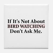 Bird Watching Tile Coaster