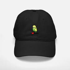 I Love Budgies Baseball Hat