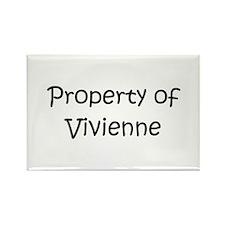 Cool Vivienne Rectangle Magnet