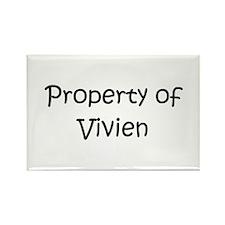Funny Vivien Rectangle Magnet