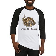 Obey The Snake Baseball Jersey