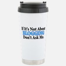 Blogging Stainless Steel Travel Mug