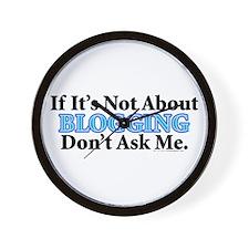 Blogging Wall Clock