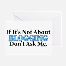 Blogging Greeting Card