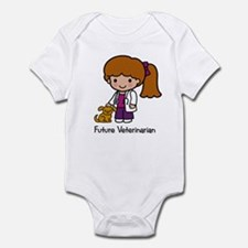 Future Veterinarian Girl Infant Creeper