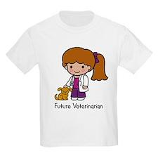 Future Veterinarian Girl Kids T-Shirt
