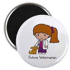 Future Veterinarian Girl Magnet