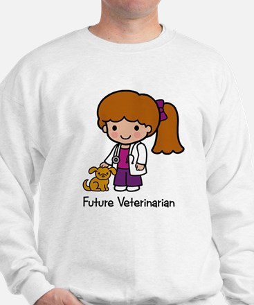 Future Veterinarian Girl Sweater