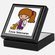 Future Veterinarian Girl Keepsake Box