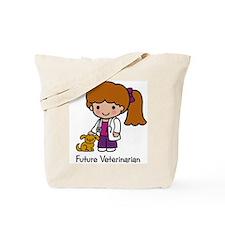 Future Veterinarian Girl Tote Bag