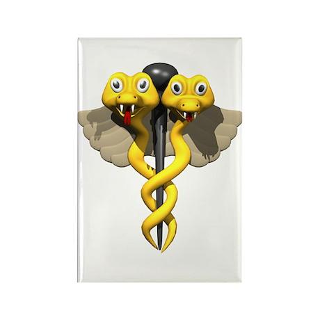 Medical Symbol Rectangle Magnet (10 pack)