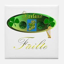 Dynamic Ireland. Tile Coaster