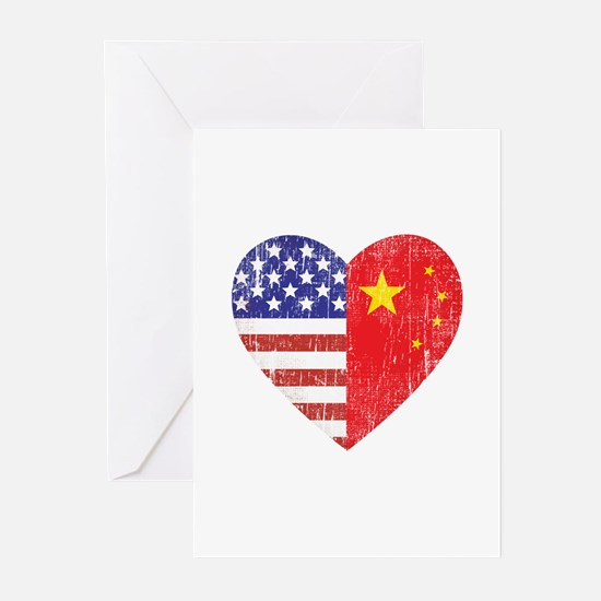 Family Heart Greeting Cards (Pk of 10)