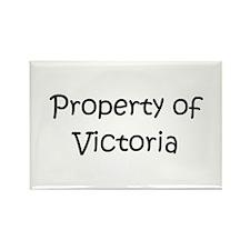 Unique Victoria name Rectangle Magnet