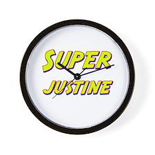 Super justine Wall Clock