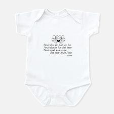 Never Doubt Ophelia Infant Bodysuit