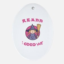 Breanna The Good Witch Oval Ornament