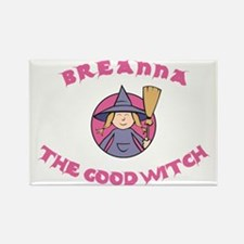 Breanna The Good Witch Rectangle Magnet