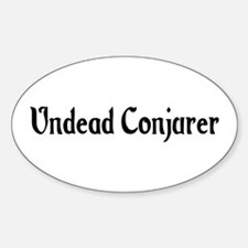 Undead Conjurer Oval Decal