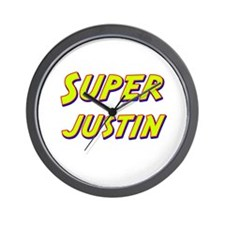 Super justin Wall Clock
