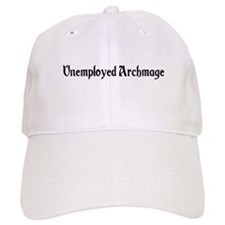 Unemployed Archmage Baseball Baseball Cap