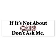Cars Bumper Bumper Bumper Sticker
