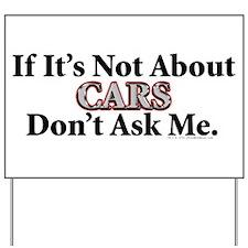 Cars Yard Sign