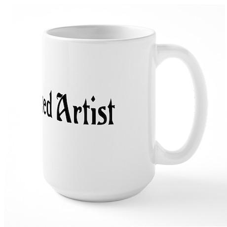 Unemployed Artist Large Mug