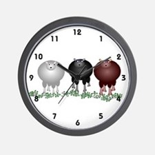 Baa Baa Baa Wall Clock