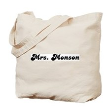 Mrs. Monson Tote Bag