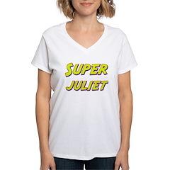 Super juliet Women's V-Neck T-Shirt