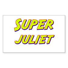 Super juliet Rectangle Decal