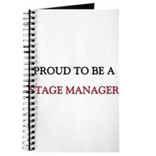 Proud to be a Stage Manager Journal