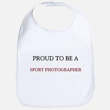 Proud to be a Sport Photographer Bib