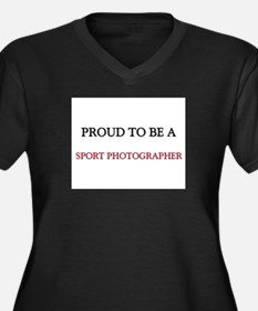 Proud to be a Sport Photographer Women's Plus Size