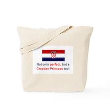Perfect Croatian Princess Tote Bag