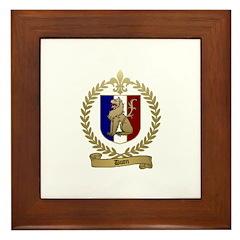 DUON Family Crest Framed Tile