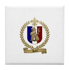 DUON Family Crest Tile Coaster