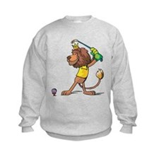 Golfing Lion Sweatshirt