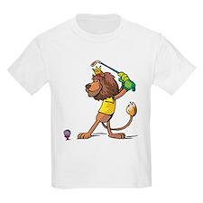 Golfing Lion T-Shirt