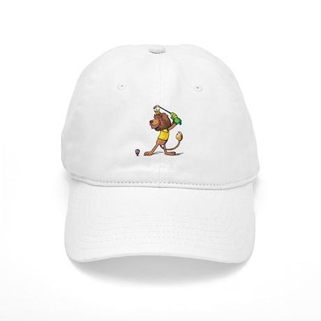 Golfing Lion Cap