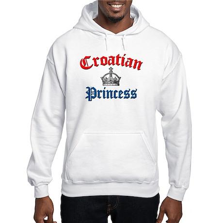 Croatian Princess 3 Hooded Sweatshirt