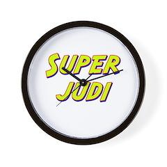 Super judi Wall Clock