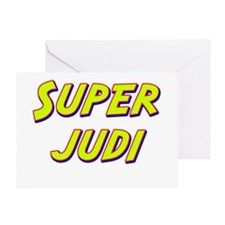 Super judi Greeting Card