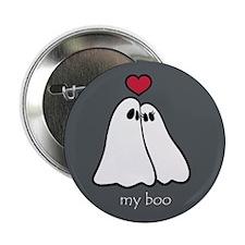 Ghost Love Halloween 2.25 inch Button