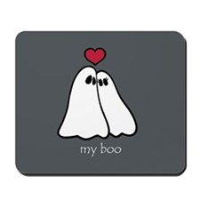 Ghost Love Halloween Mousepad
