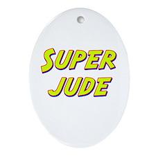 Super jude Oval Ornament