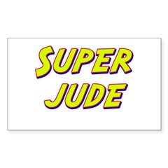 Super jude Rectangle Decal