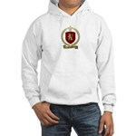 CAHOUET Family Crest Hooded Sweatshirt