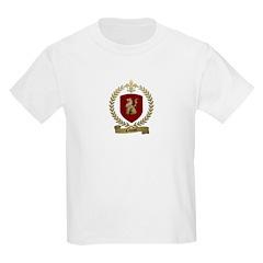 CAHOUET Family Crest Kids T-Shirt